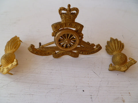 NEW ZEALAND  rnza SET  moving wheel  metal gold