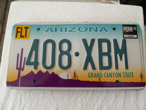 usa car  number plate arizona