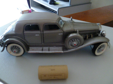 franklin mint 1933 duesenberg sj twennty grand