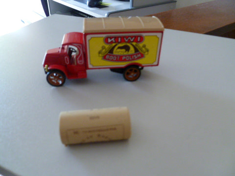 MATCHBOX mack truck kiwi polish