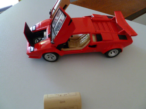 franklin mint 1985 lamborgini countach  heavy diecast