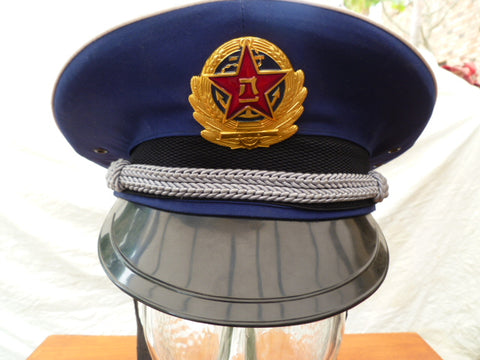 CHINESE GOVERNMENT PEAKED CAP