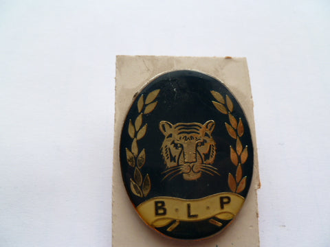 BOTSWANA officers railway police cap badge