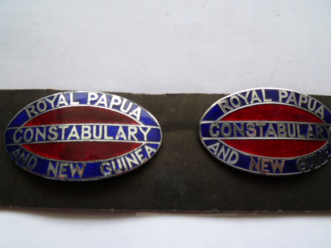 ROYAL PAPUA &NEW GUINEA CONSTABULARY EPP BADGES AUST M/M