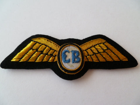 AIRLINE WING bullion  eb on white circle