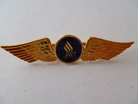 AIRLINE WING singapore air m/m jy gold  metal