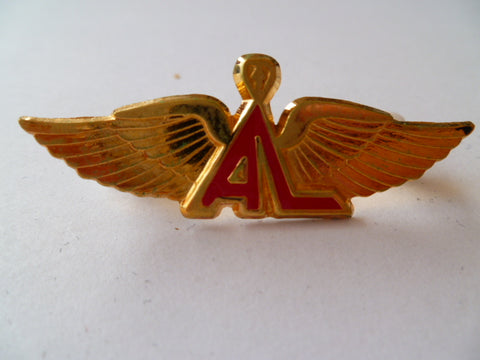 AIRLINE WING sth africa le sotho air gold  metal