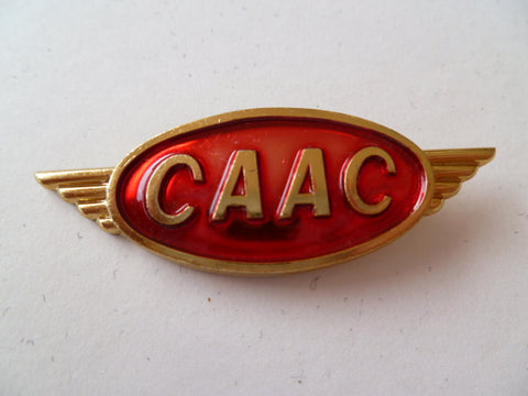 AIRLINE WING CAAC [china] metal maybe cap