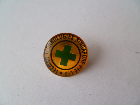 SINGAPORE tecmar technoligies medical pty badge