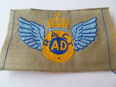 AUSTRALIA  AIR DESPATCH  POLYESTER RACT PATCH