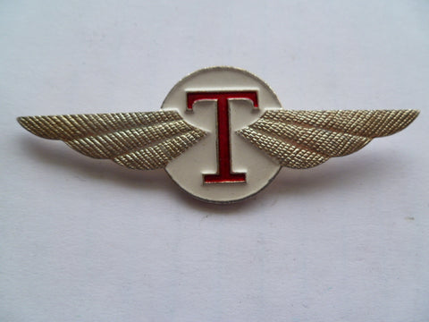 RUSSIA AIRLINE WING T maybe cap has centre prongs