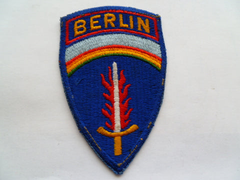 U S ARMY BERLIN BRIGADE exc early