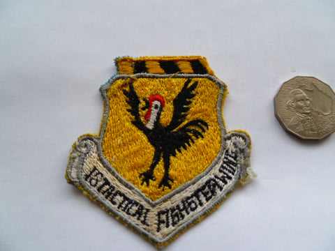USAF 18th tactical fighter wing patch local made