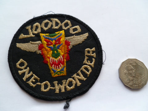 USAF voodoo101 old local made and well worn