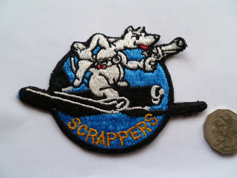 USAF  scrappers squadron local made
