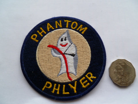USAF phantom phlyer patch local made exc