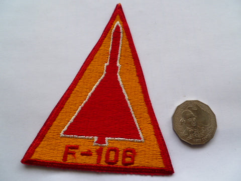 USAF F-106 old patch local made
