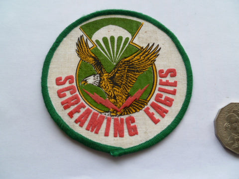 US ARMY 101st a/b screaming eagles viet made exc