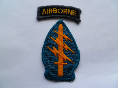 US ARMY special forces patch w/airborne tab local made
