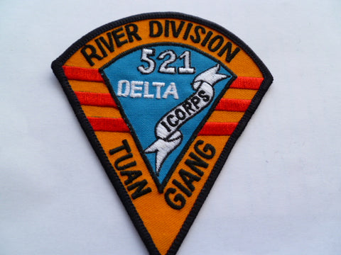 US ARMY 521 I corps river division nice made