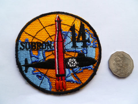 US NAVY submarine sqd 14  local made