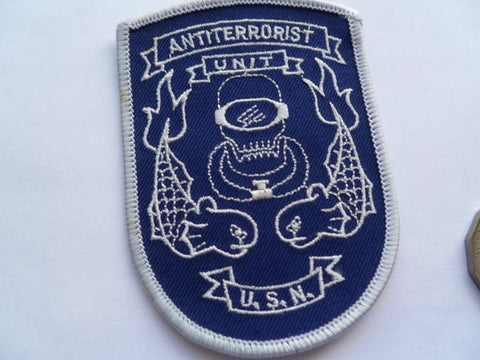 USN SEAL  anti terrorist unit patch