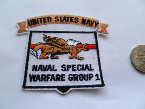 US naval special warfare group group 1 patch