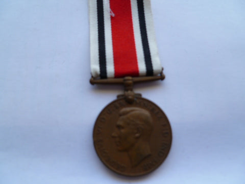 BRITAIN  geo 6th special const medal  n/t geo murray