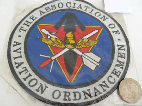 USA assn of aviation ordnancemen large patch