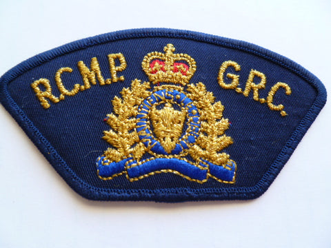 CANADA RCMP shoulder patch older