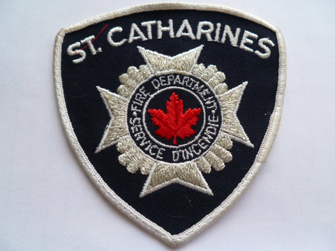 CANADA st catherines fire dept silver bullion exc