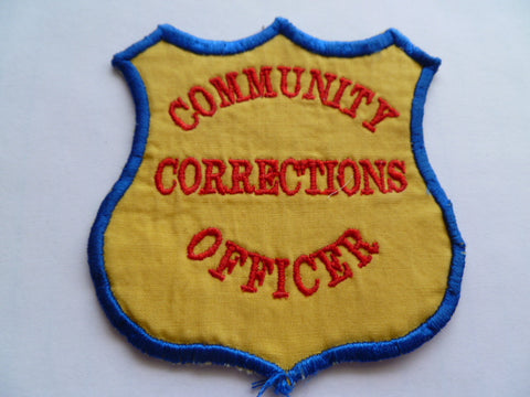 AUSTRALIA community corrections officer patch