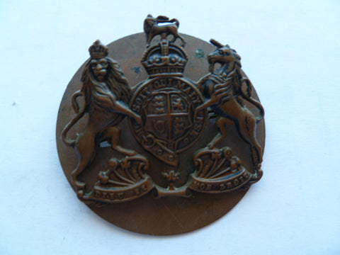 wo 2 sleeve badge all brass k/c exc