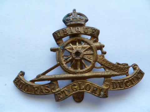 artillery cap badge k/c nice older badge