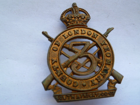 3rd london yeomanrycap badge