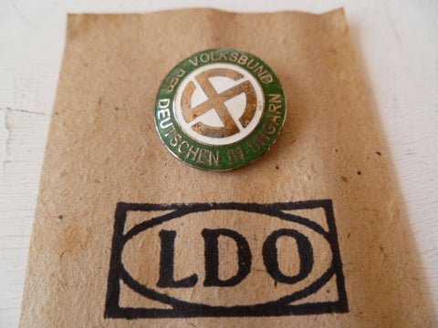 GERMAN WWII ss lapel  badge m/m