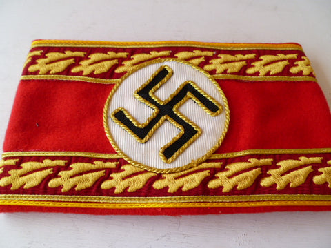 GERMAN WWII political leaders armband REICH