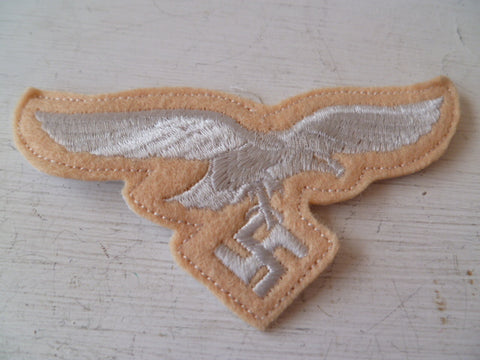 GERMAN WWII luftwaffe eagle breast summer creamy colour