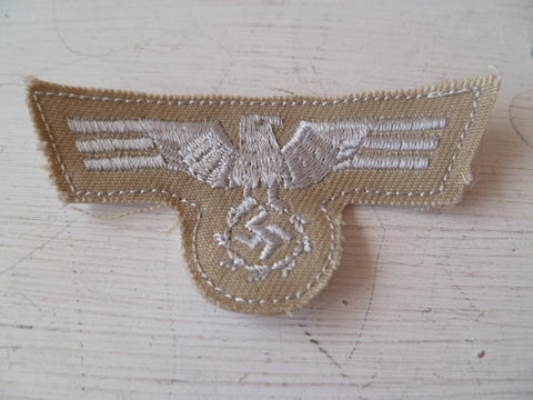GERMAN WWII tropical eagle for  army m43 cap