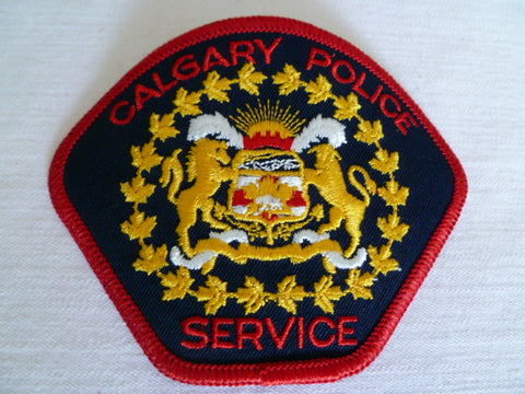 CANADA calgery police service patch