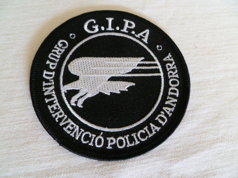FRANCE police andorra  patch