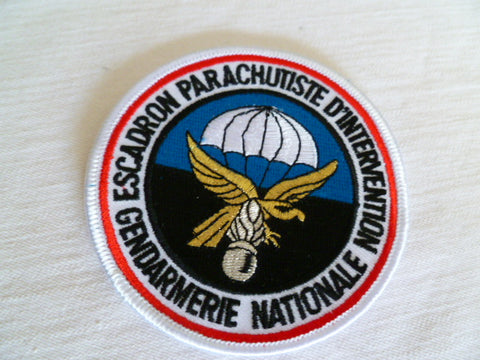 FRANCE nationale parachusists  patch