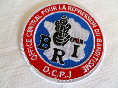 FRANCE DCPJ BRI based at lyon patch