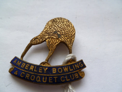 NEW ZEALAND amberley bowling and croquet club