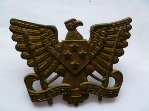 NEW ZEALAND 3rd auck mounted rifles cap badge