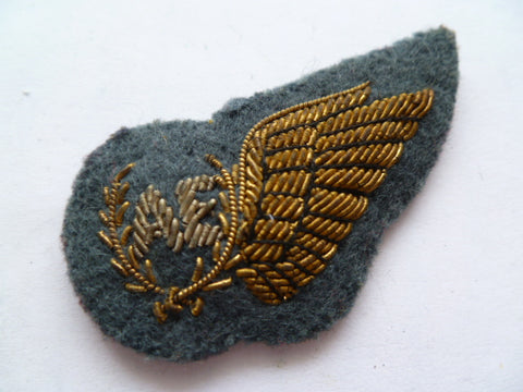 NEW ZEALAND RNZAF 1/2 wing brevet AE
