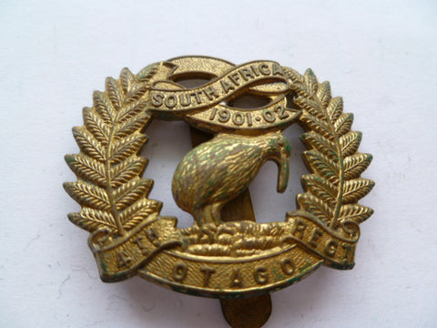 NEW ZEALAND 4th otago rifles cap badge