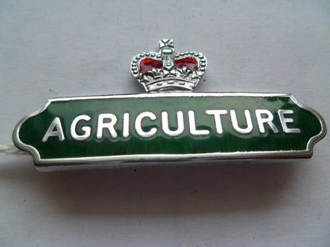 NEW ZEALAND agriculture dept badge m/m