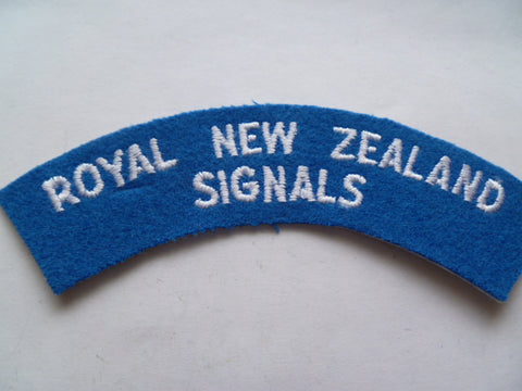 NEW ZEALAND  signals rocker
