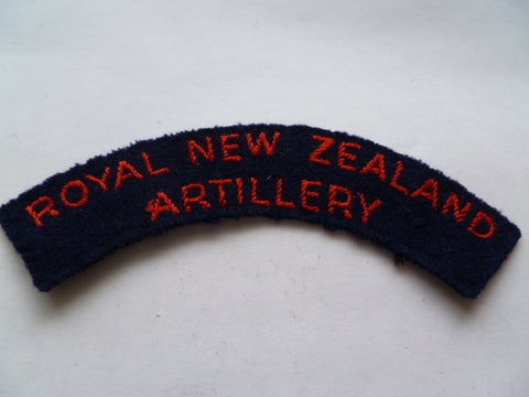 NEW ZEALAND artillery rocker